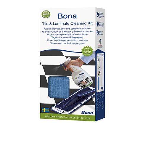 Bona Kit de nettoyage pour sols durs et carrelés